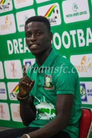 Dreams FC complete signing of Liberty striker Michael Sarpong on three-year deal
