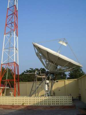 GHANA AT THE CUTTING EDGE OF SATELLITE COMMUNICATION