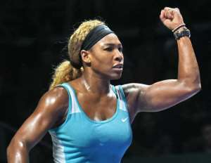 Thrilling encounter: Serena Williams digs deep to win sensational WTA Finals semi-final