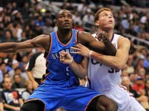 NBA : Ibaka against Griffin a hard duel