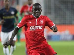 Shadrach Eghan found the back of the net for FC Twente