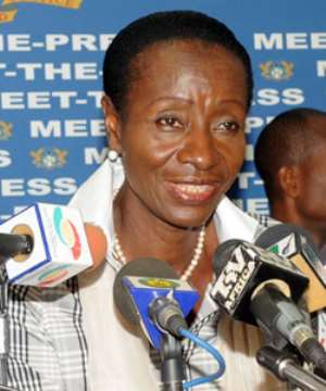 Sherry-Ayittey, Ghana's Health Minister