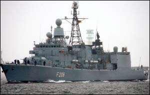 German Navy Captures Pirates Off Somalia
