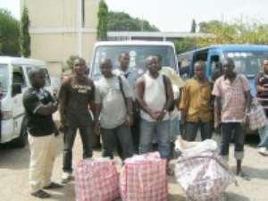 Arrested For Smuggling