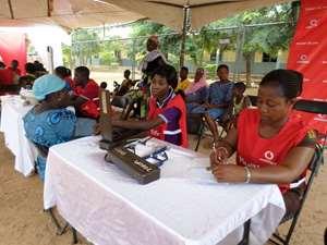 Vodafone Screens Sunyani Residents