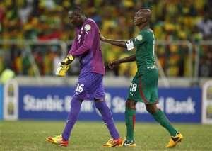 Hearts of oak goalkeeper Soulama Abdoulaye