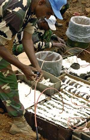 Clearing South Sudan of deadly landmines