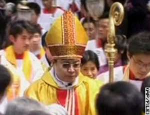 Pope excommunicates China bishops