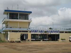 DANGER @ AIRPORTS  …  T'di, Sunyani Have No Scanners; Lives At Risk
