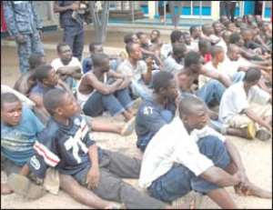 Tema Police Arrests 90 Suspects