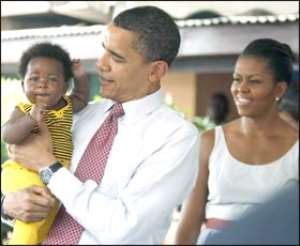 President Barack Obama and his wife Michelle