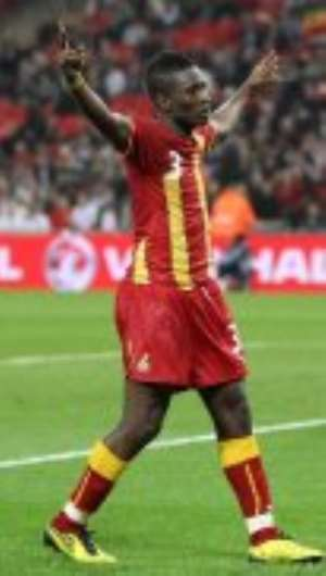 Gyan Happy With Form As AFCON Nears
