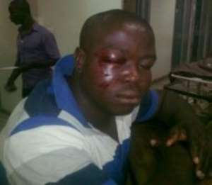 Medeama official John Cudjoe who is alleged to have been attacked by fans of Arsenals