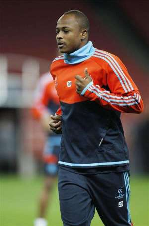 Hammers interest: West Ham join Andre Ayew race