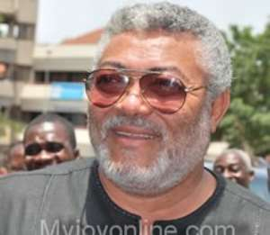 Former President Jerry Rawlings