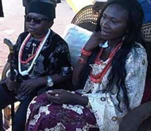 Chinedu Ikedieze and Nneoma Hope Nwajah