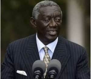 Kufuor blames Africa's under development on lack of good leadership