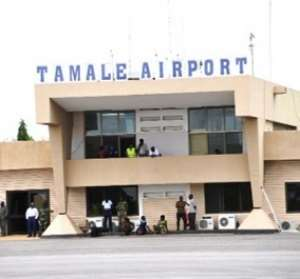Tamale International Airport Phase Two Sod Cutting