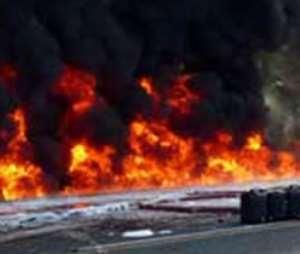 Hundreds die in fuel tanker fire in Kenya