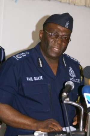 Mr. Paul Tawiah Quaye, IGP