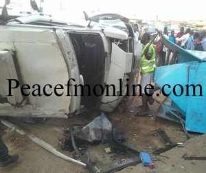 Four Perish In Spintex Road Accident