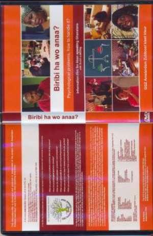 Cover of the DVD-'Biribi ha wo anaa'