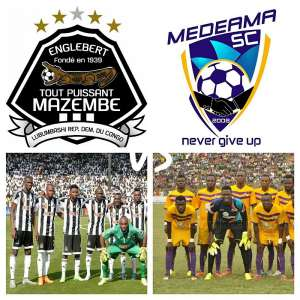 CAF CONFEDERATION CUP LIVE PLAY-BY-PLAY: TP Mazembe - Medeama SC