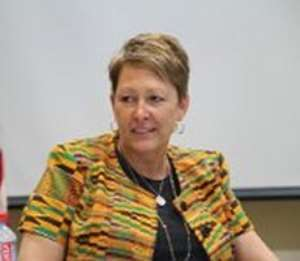 Ms Cheryl Anderson, out-going USAID - Ghana Mission Director