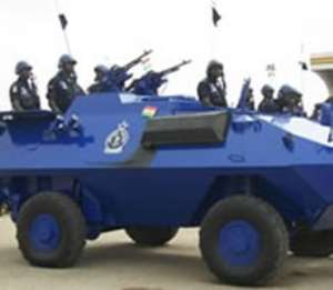Bolin-Lana's palace at Yendi under siege from military/police men