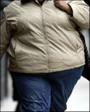 In certain Ghanaian cultures, Obesity is seen as a sign of wealth and prestige