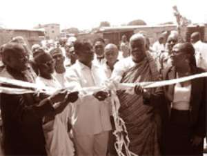 Ga East Assembly commissions two new classroom blocks