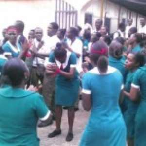 Nurses And Midwives Angry At GRNMA Over Unsettled Debt