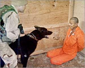 US dog-handler faces Abu Ghraib trial