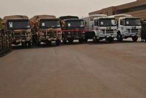 US traks to Ghana Army