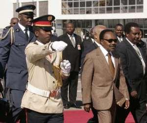 President of Gabon Omar Bongo