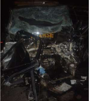3 soldiers feared dead in horrific accident at Peki