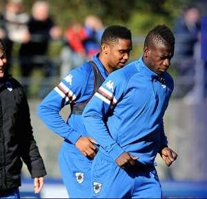 Ghana ace Afriyie Acquah trains for the first time with new club Sampdoria
