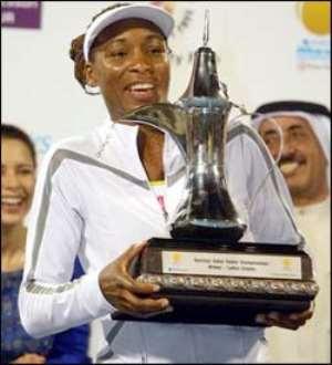 Venus Wins Dubai Title