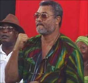 Rawlings dares Kufuor  in 2004