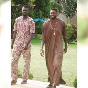 Expect more: Adebayor shows picture of brother who stole 21 phones in France