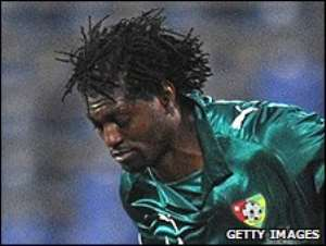 Adebayor appears to have played for his country for the last time