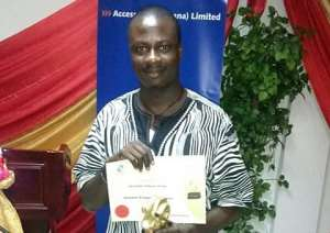 JOYFM's Benjamin Tetteh wins Business Broadcaster of Year award
