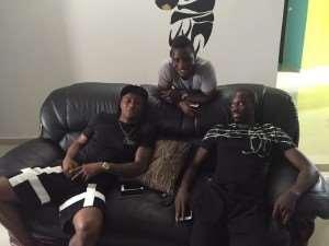 Ghana star Andre Ayew visits crocked international teammate Rabiu Mohammed