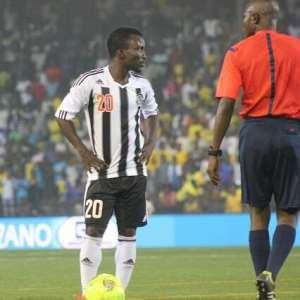 Ghana and TP Mazembe forward Solomon Asante