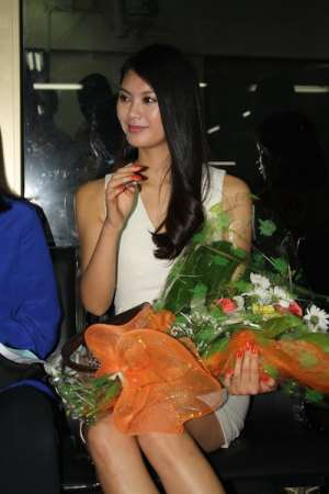 Miss World team arrive in Accra