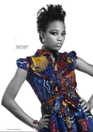 Efya, Lydia, Chris For Fashion Icon Awards
