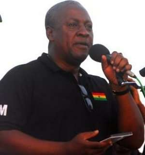 Desperate Mahama Is Afraid of His Own Shadow