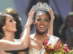 Leila Lopes, Miss Angola, now Miss Universe