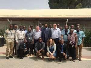 Ambassador meets Ghanaian doctors in Israel