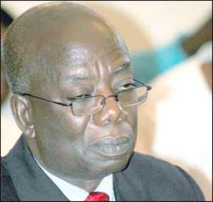 Mr Kwadwo Mpiani, former Chief of Staff